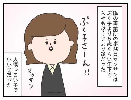 100. 事務員のマッサン